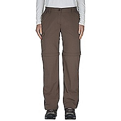 Craghoppers - Cafe au lait nosilife convertible trousers