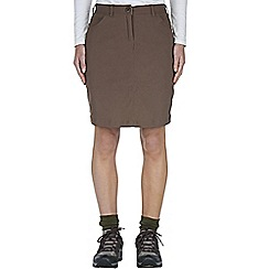 Craghoppers - Cafe au lait nosilife pro skirt