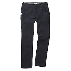 Craghoppers - Navy blue nosilife clara trousers