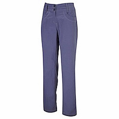 Craghoppers - Dark slate nosilife amrita trousers - regular leg length