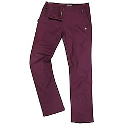 Craghoppers - Rioja red kiwi pro trousers