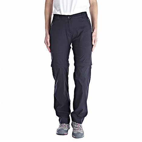Craghoppers - Dark navy kiwi pro convertible trousers - regular leg length