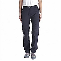 Craghoppers - Dark navy kiwi pro convertible trousers - short leg length
