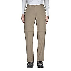 Craghoppers - Mushroom kiwi pro convertible trousers