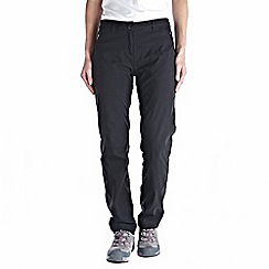 Craghoppers - Black kiwi pro winter-lined trousers - regular leg