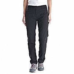 Craghoppers - Black kiwi pro winter-lined trousers - regular leg