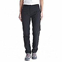 Craghoppers - Black kiwi pro winter-lined trousers - short leg