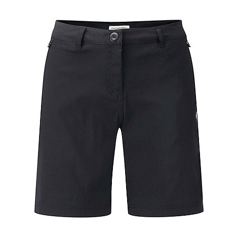 Craghoppers - Black kiwi pro stretch shorts