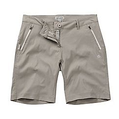 Craghoppers - Mushroom kiwi pro-stretch shorts