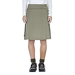 Craghoppers - Litchen green nosilife tafari jersey skirt