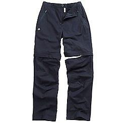 Craghoppers - Navy basecamp convertible trousers