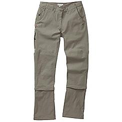 Craghoppers - Mushroom nosilife pro capri 3/4 length trousers