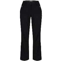 Craghoppers - Black pro lite softshell trousers