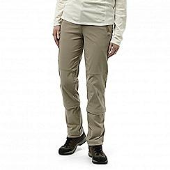 Craghoppers - Mushroom nosilife pro capri convertible trousers