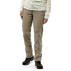 Craghoppers - Mushroom Nosilife pro capri convertible trousers - long