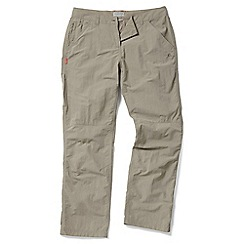 Craghoppers - Mushroom Nosilife trousers - regular length