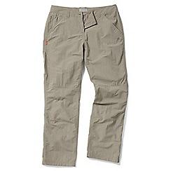 Craghoppers - Mushroom Nosilife trousers - regular length