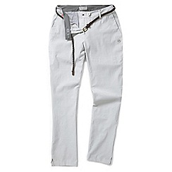 Craghoppers - Dove grey nosilife fleurie pants