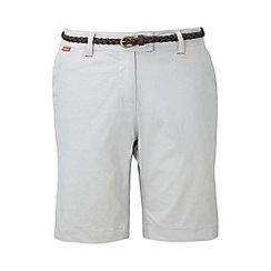 Craghoppers - Dove grey nosilife fleurie shorts