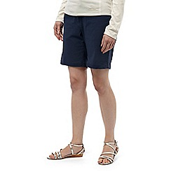 Craghoppers - Soft navy nosilife fleurie shorts