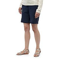 Craghoppers - Soft navy nosilife fleurie shorts