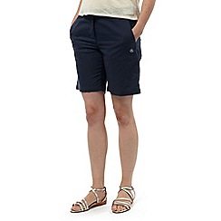 Craghoppers - Soft navy odette shorts