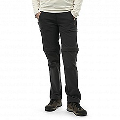 Craghoppers - Charcoal nosilife pro convertible trousers