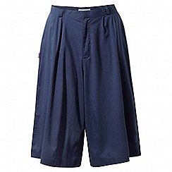 Craghoppers - Night blue Nosilife amba culottes
