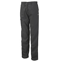 Craghoppers - Charcoal classic kiwi trousers - regular leg