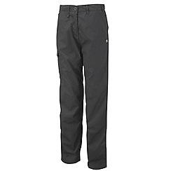 Craghoppers - Charcoal classic kiwi trousers - regular leg