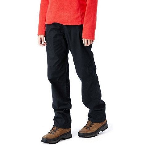 Craghoppers - Black Water Repelling Kiwi Trousers