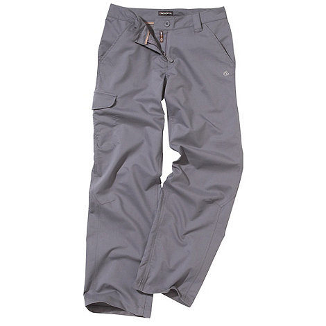 Craghoppers - Grey lightweight quick drying trousers