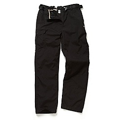 Craghoppers - Black Kiwi winterlined walking trousers