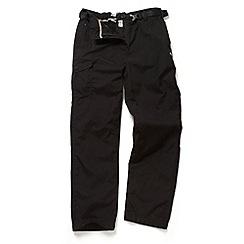 Craghoppers - Black Kiwi winterlined walking trousers