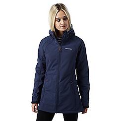 Craghoppers - Night blue Eada hooded waterproof softshell jacket