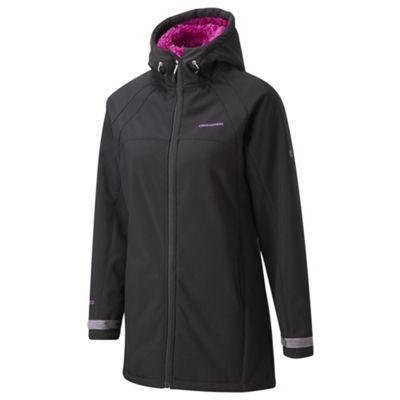Craghoppers Black eada hood jacket - . -