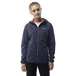 Craghoppers - Soft navy Pro lightweight waterproof softshell jacket