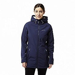 Craghoppers - Blue 'Ingrid' waterproof hooded jacket