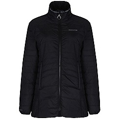 Craghoppers - Black comlite long jacket