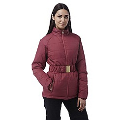 Craghoppers - Rosehip pink Maeva interactive insulating hooded jacket