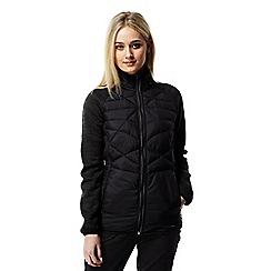 Craghoppers - Black Midas water-resistant hybrid jacket