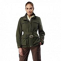 Craghoppers - Parka green Nosilife lightweight safari jacket