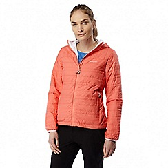 Craghoppers - Bright papaya compresslite lightweight water resistant jacket
