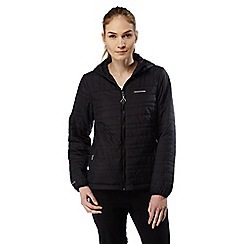 Craghoppers - Black/black compresslite lightweight water resistant jacket