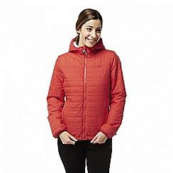 Craghoppers - Red 'Compresslite' water-resistant jacket
