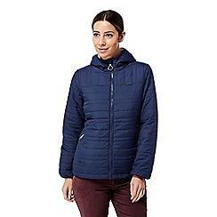 Craghoppers - Blue 'Compresslite' water-resistant jacket