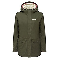 Craghoppers - Parka green Madigan compresslite 3in1 waterproof jacket