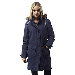 Craghoppers - Soft navy Cayley waterproof insulating parka