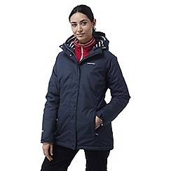 Craghoppers - Soft navy Madigan classic thermic waterproof jacket