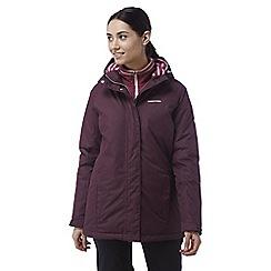 Craghoppers - Dark rioja red Madigan classic thermic waterproof jacket